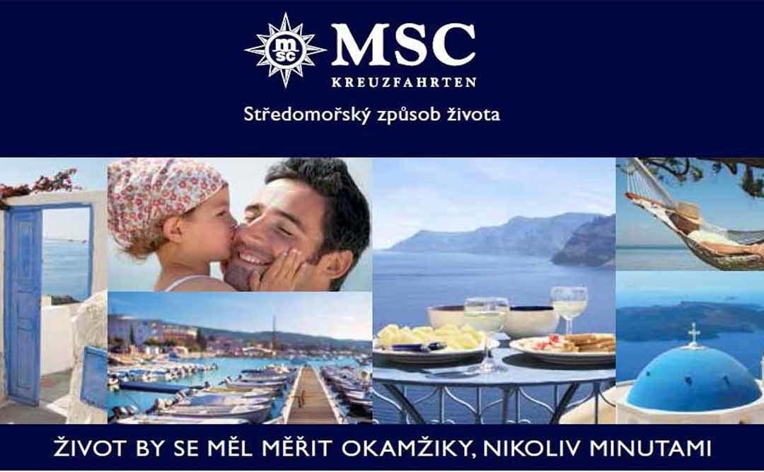 Plavba luxusní lodí MSC Musica – Itálie, Řecko, Černá hora | termín 15. 4. – 22. 4. 2018